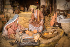Βρεφικός σταθμός Χριστουγέννων στοκ φωτογραφίες με δικαίωμα ελεύθερης χρήσης