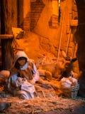 Βρεφικός σταθμός Χριστουγέννων στοκ φωτογραφία
