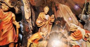 βρεφικός σταθμός Χριστο&ups Στοκ Εικόνες