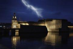 βροντή αστραπής Στοκ φωτογραφία με δικαίωμα ελεύθερης χρήσης