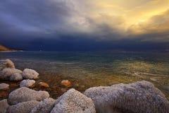 βροντή θύελλας άνοιξη Στοκ Εικόνες