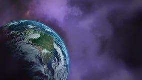 Βροντή και πλανήτης Γη απόθεμα βίντεο