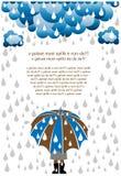 βροχή ημέρας Στοκ Φωτογραφίες