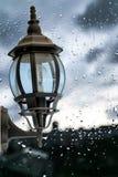 Βροχή και δροσιές Στοκ εικόνα με δικαίωμα ελεύθερης χρήσης