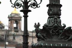 βροχή μνημείων τεμαχίων Στοκ Φωτογραφία