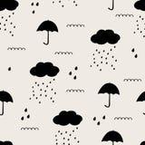 βροχή προτύπων απελευθέρ&ome Στοκ εικόνα με δικαίωμα ελεύθερης χρήσης