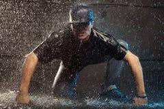 βροχή χορευτών Στοκ εικόνες με δικαίωμα ελεύθερης χρήσης