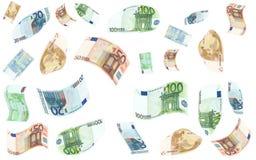 Βροχή χρημάτων Στοκ Εικόνα