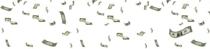 βροχή χρημάτων Στοκ Φωτογραφίες