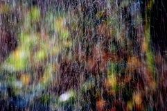 βροχή χρώματος Στοκ Φωτογραφίες