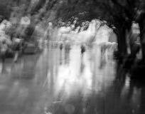 Βροχερή ημέρα στη Σαγκάη Στοκ φωτογραφία με δικαίωμα ελεύθερης χρήσης