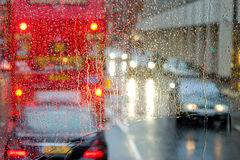 Βροχερή ημέρα στο Λονδίνο Στοκ φωτογραφία με δικαίωμα ελεύθερης χρήσης