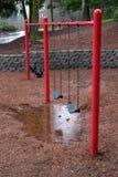 Βροχερή ημέρα στο πάρκο Στοκ Φωτογραφίες