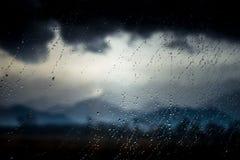 Βροχερή ημέρα στο trasylvania Στοκ φωτογραφία με δικαίωμα ελεύθερης χρήσης