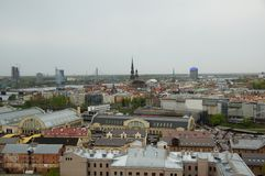 Βροχερή ημέρα της Ρήγας Στοκ εικόνες με δικαίωμα ελεύθερης χρήσης