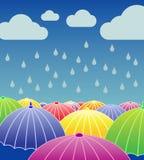 Βροχερή ημέρα Στοκ φωτογραφίες με δικαίωμα ελεύθερης χρήσης