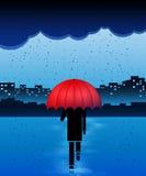 Βροχερή ημέρα Στοκ εικόνα με δικαίωμα ελεύθερης χρήσης