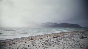 Βροχερή θάλασσα στοκ εικόνα