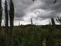 Βροχερή φύση ημέρας Στοκ Εικόνα