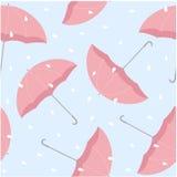 βροχερός άνευ ραφής προτύπ&o Στοκ Εικόνες