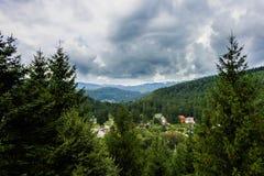 Βροχερός ουρανός ημέρας Στοκ φωτογραφία με δικαίωμα ελεύθερης χρήσης