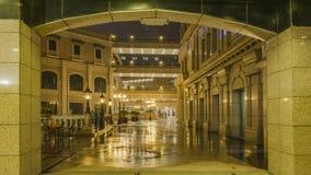 Βροχερός δρόμος ποταμών Jinsha νύχτας Στοκ εικόνα με δικαίωμα ελεύθερης χρήσης