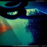 Βροχερό τηλέφωνο Στοκ φωτογραφία με δικαίωμα ελεύθερης χρήσης