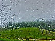 Βροχερό Window2 Στοκ εικόνες με δικαίωμα ελεύθερης χρήσης