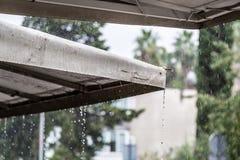 βροχοπτώσεις Στοκ φωτογραφία με δικαίωμα ελεύθερης χρήσης
