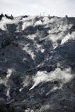 Βρυμένος εθνικό πάρκο Yellowstone βουνών στοκ εικόνα