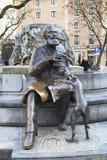 Βρυξέλλες, Βέλγιο, άγαλμα του Charles Karel Buls του δημάρχου των Βρυξελλών Στοκ εικόνες με δικαίωμα ελεύθερης χρήσης