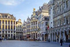 Βρυξέλλες, Βέλγιο, μεγάλη θέση Στοκ εικόνες με δικαίωμα ελεύθερης χρήσης