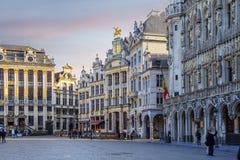 Βρυξέλλες, Βέλγιο, μεγάλη θέση Στοκ Φωτογραφία