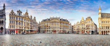 Βρυξέλλες στην ημέρα, καμία, Βέλγιο Στοκ εικόνες με δικαίωμα ελεύθερης χρήσης