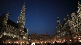 Βρυξέλλες, μεγάλη θέση Στοκ Φωτογραφία