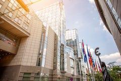 Βρυξέλλες που χτίζουν τ&om Στοκ φωτογραφίες με δικαίωμα ελεύθερης χρήσης