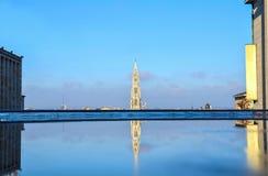 Βρυξέλλες, πύργος της αίθουσας πόλεων Στοκ εικόνα με δικαίωμα ελεύθερης χρήσης