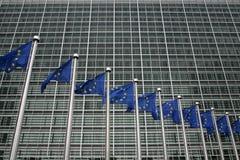 ΒΡΥΞΕΛΛΕΣ, ΒΕΛΓΙΟ - ΤΟΝ ΙΟΎΛΙΟ ΤΟΥ 2007: Ευρωπαϊκή Επιτροπή στις Βρυξέλλες Στοκ φωτογραφία με δικαίωμα ελεύθερης χρήσης