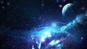 Βρόχος 01 γαλαξιών διανυσματική απεικόνιση