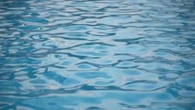 Βρόχος υποβάθρου νερού λιμνών Αφηρημένο υπόβαθρο νερού πισινών απόθεμα βίντεο