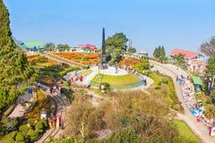 Βρόχος Batasia, Darjeeling Στοκ Εικόνες