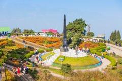Βρόχος Batasia, Darjeeling Στοκ εικόνες με δικαίωμα ελεύθερης χρήσης