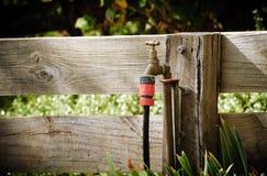 βρύση κήπων Στοκ Εικόνες