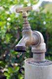 Βρύση της μείωσης διαρροής νερού Στοκ φωτογραφία με δικαίωμα ελεύθερης χρήσης