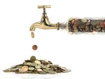 βρύση χρημάτων Στοκ φωτογραφίες με δικαίωμα ελεύθερης χρήσης