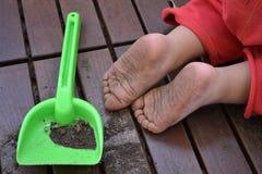 βρώμικα πόδια στοκ φωτογραφία με δικαίωμα ελεύθερης χρήσης