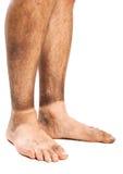Βρώμικα πόδια Στοκ Εικόνες