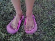 βρώμικα πόδια Στοκ Φωτογραφία