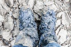 βρώμικα πόδια Στοκ εικόνα με δικαίωμα ελεύθερης χρήσης