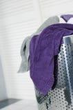 βρώμικες πετσέτες Στοκ εικόνες με δικαίωμα ελεύθερης χρήσης